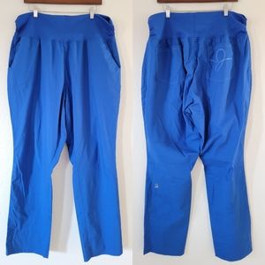 •JAANUU• Plus Size Pant In Royal Blue 2X.